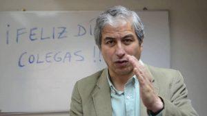 Mario Aguilar apoya a los profesores brasileros en paro