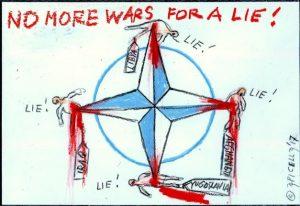 "No War, No Nato e Ism: ""Mai più guerre per una bugia!"""