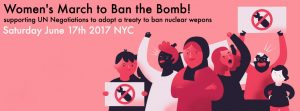 17th June: Women's march and rally to ban the bomb