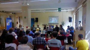 """Presentación en Milán de """"Diritti all'InformAZIONE"""""""