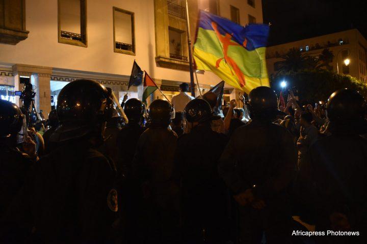 Protestas en Marruecos, en apoyo al RIF