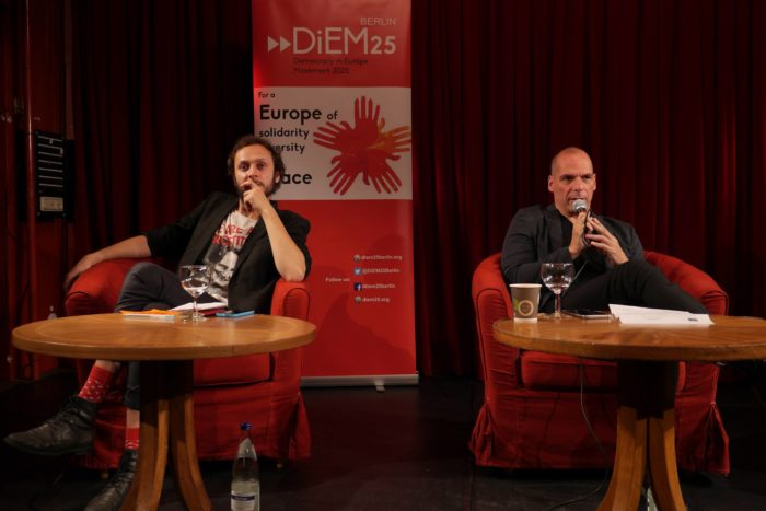 DiEM25 & Yanis Varoufakis Press Conference – Berlin