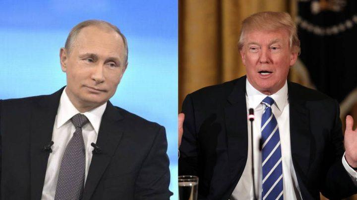 Trump y Putin acuerdan trabajar juntos para alcanzar un cese del fuego en Siria