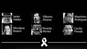 Μεξικανοί δημοσιογράφοι διαμαρτύρονται για τη Βία ενάντια σε Δημοσιογράφους και Εργαζομένους στα ΜΜΕ