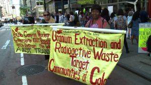 Nueva York: Manifestantes protestan contra plan de rescate financiero a la industria de energía nuclear