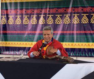 """Lenín Moreno: """"Hay que construir la paz."""""""