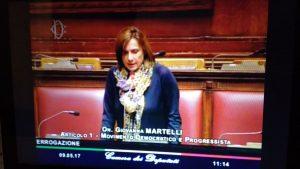 Milagro Sala: interpellanza Martelli e risposta del governo