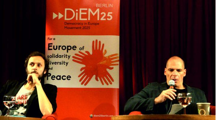 DiEM25 auf den Weg, die erste transnationale politische Partei in Europa zu bilden
