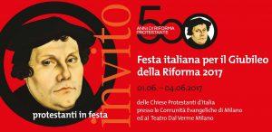 A Milano si celebrano i 500 anni della Riforma Protestante