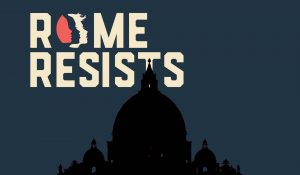 Rome and Brussels Resist – Trump Protest