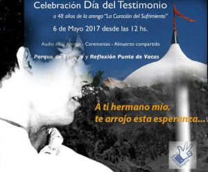 Celebration. May 4th, Day of testimony.