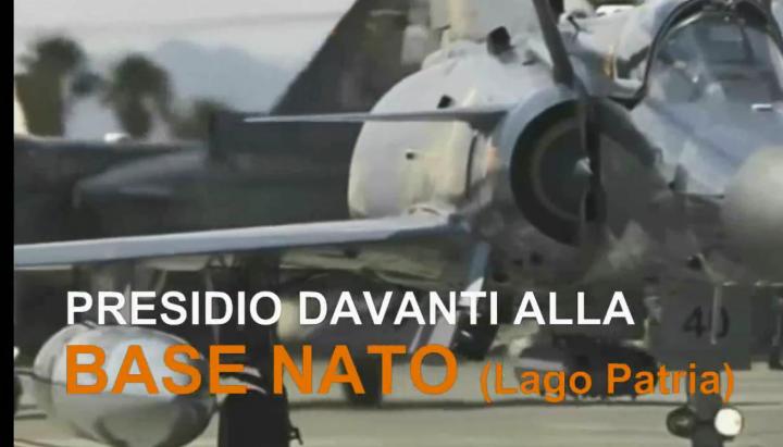 Napoli, 13 maggio presidio davanti base Nato