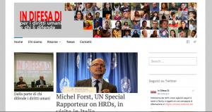 In difesa di…: proteggere i difensori dei diritti umani