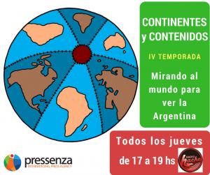 Continentes y contenidos #8 Temporada IV 04/05/2017