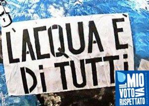 Il 30/7 il Forum Acqua incontra il Presidente della Camera Roberto Fico
