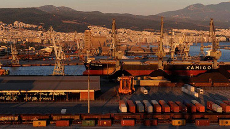 Le port de Thessalonique