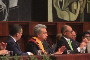 """Lenín Moreno: """"Hay líderes que van a la vanguardia y hay líderes que preferimos mantenernos en la retaguardia"""""""