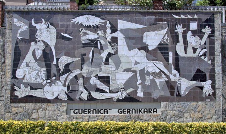 Gernika reconoció la paz en Colombia en el 80 aniversario del bombardeo