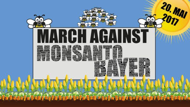 20. Mai: Marsch gegen Monsanto-Bayer auf allen Kontinenten