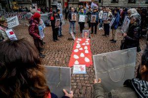 Marcia dei nuovi desaparecidos contro le stragi nel Mediterraneo