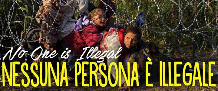 """Lettera aperta della Rete """"Nessuna persona è illegale"""" a Repubblica"""