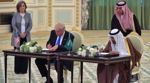 Trump-Arabia Saudita: accordo per la vendita di armi da 110 miliardi di dollari