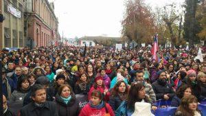 Chile: paro regional de profesores