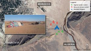 Rifugiati siriani intrappolati nel deserto al confine tra Marocco e Algeria