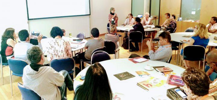 Pressenza au 'Global Media Forum' : journalisme pour la paix et la nonviolence