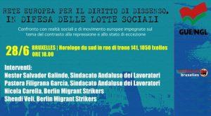 Diritto al dissenso e lotte sociali: Convegno promosso dall'Osservatorio repressione