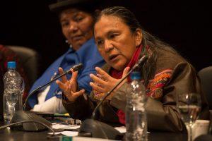 Milagro Sala verurteilt die Unterdrückung und politische Unkorrektheit seitens Macri und Kollegen
