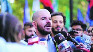 """Giorgio Jackson, diputado del Frente Amplio: """"Nuestro público no es solamente la izquierda"""""""