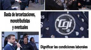Los reclamos de los trabajadores del Banco Provincia en Continentes y contenidos