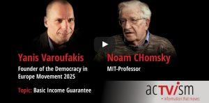 Varoufakis und Chomsky sprechen über das bedingungslose Grundeinkommen