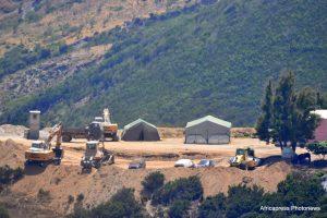 Las autoridades marroquíes blindan los bosques cercanos a la Valla de Ceuta