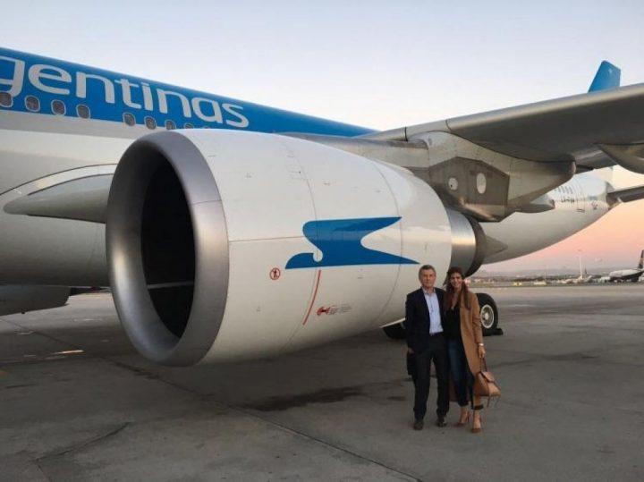 Aerolíneas Argentinas le condonó casi 500 mil pesos a una empresa del Clan Macri