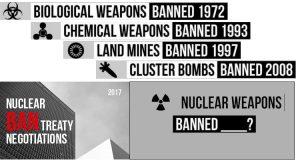 Giorno storico per bandire le armi nucleari dalla storia!