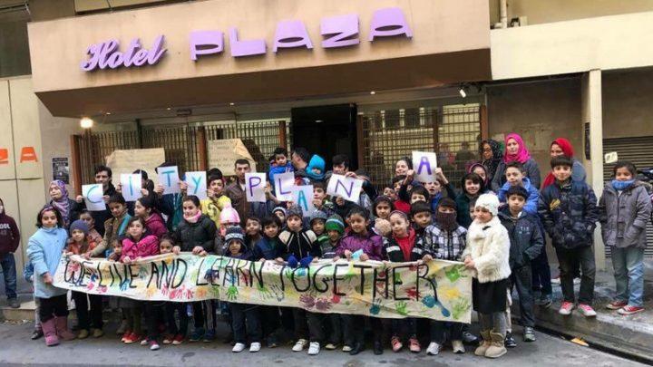Appello da Atene contro il possibile sgombero del City Plaza