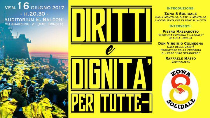 """Milano, convegno """"Diritti e dignità per tutte/i"""""""