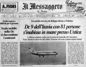 37 anni dalla strage di Ustica: lassù qualcuno sa la verità!