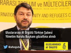 Arrestato il presidente di Amnesty International Turchia