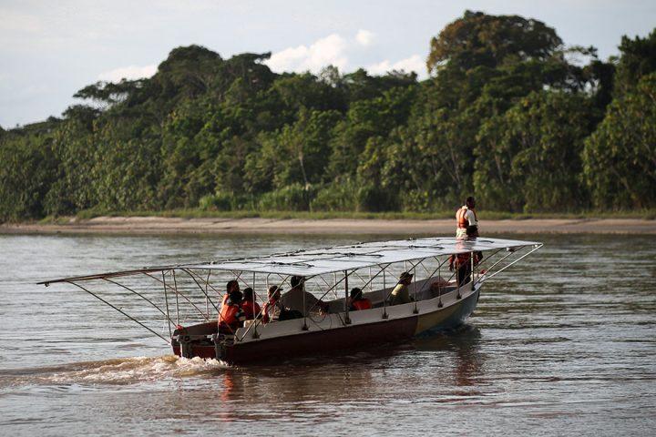 Ecco a voi il primo sistema di trasporto solare in Amazzonia