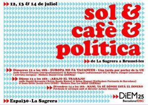 DiEM25: Uns dies per parlar d'Europa