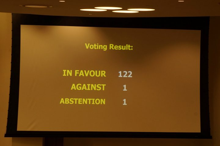 History made as UN approves treaty to ban nuclear weapons