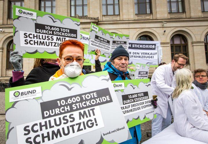BUND stellt Strafanzeigen gegen Verantwortliche des Diesel-Kartells