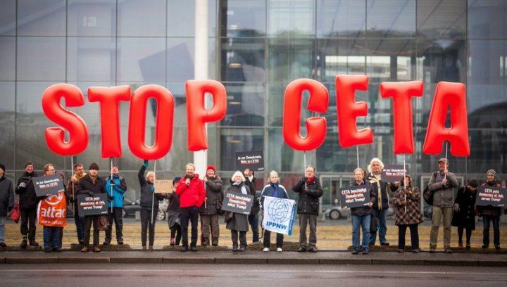 La Commission d'évaluation du CETA : une farce communicationnelle d'Emmanuel Macron