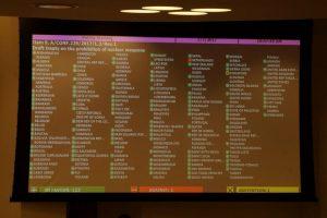 Le Traité interdisant les armes nucléaires est adopté par l'ONU