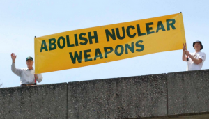 Trieste: per l'abolizione delle armi nucleari