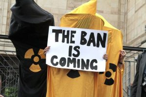 Tentativo di aggiornamento sui negoziati per il Trattato di illegalità delle armi nucleari