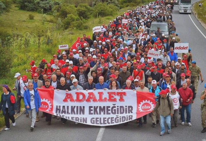 Hundreds of thousands gather in Turkey to 'revolt against injustice'